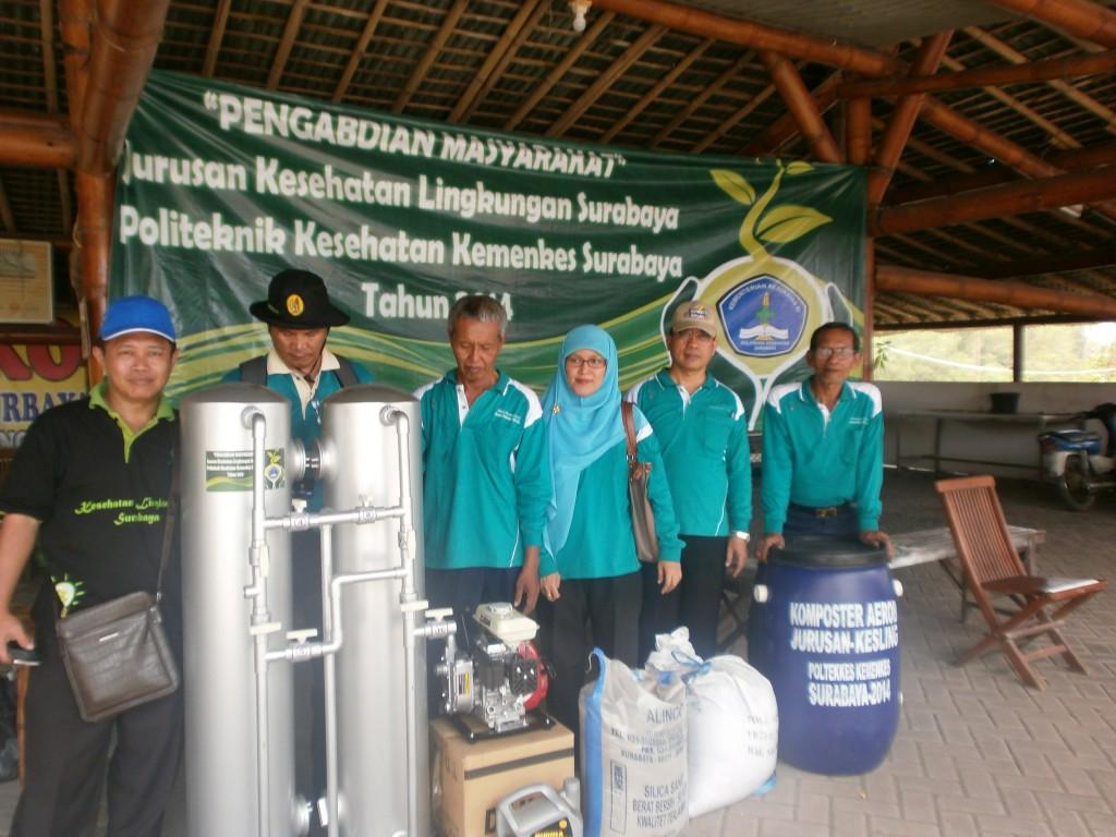Alat penyaring untuk Penyediaan air bersih